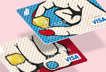 Pop–Art Bank Cards