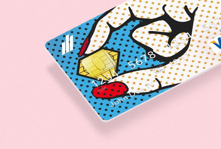 Pop–Art Bank Cards