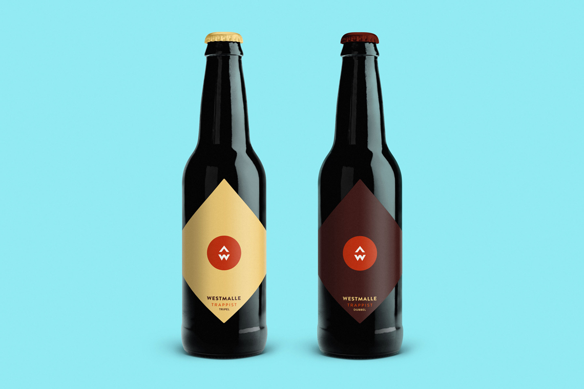 Westmalle-Beer-Labels