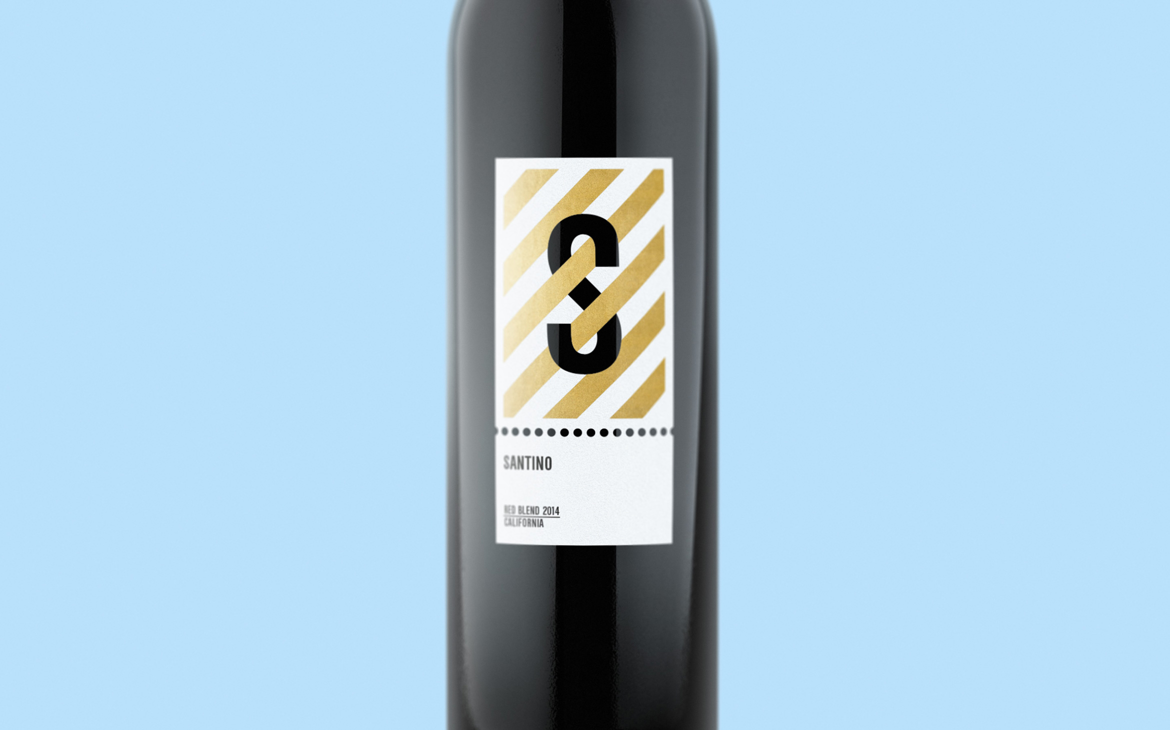 Santino-Wine-Gold-Stripes-Label