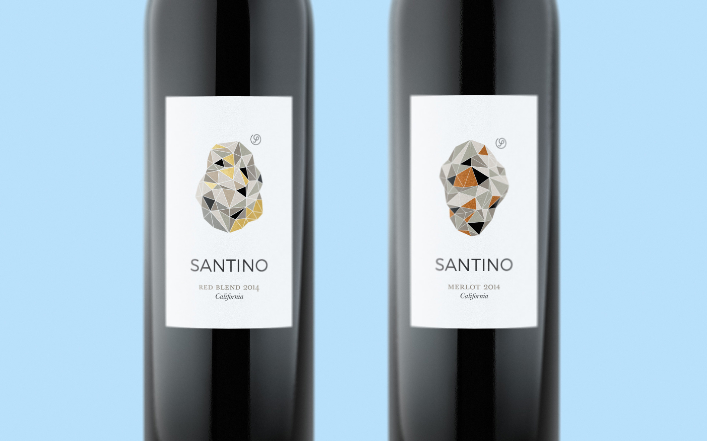 Santino-Wine-Lowpoly-Rock-Label