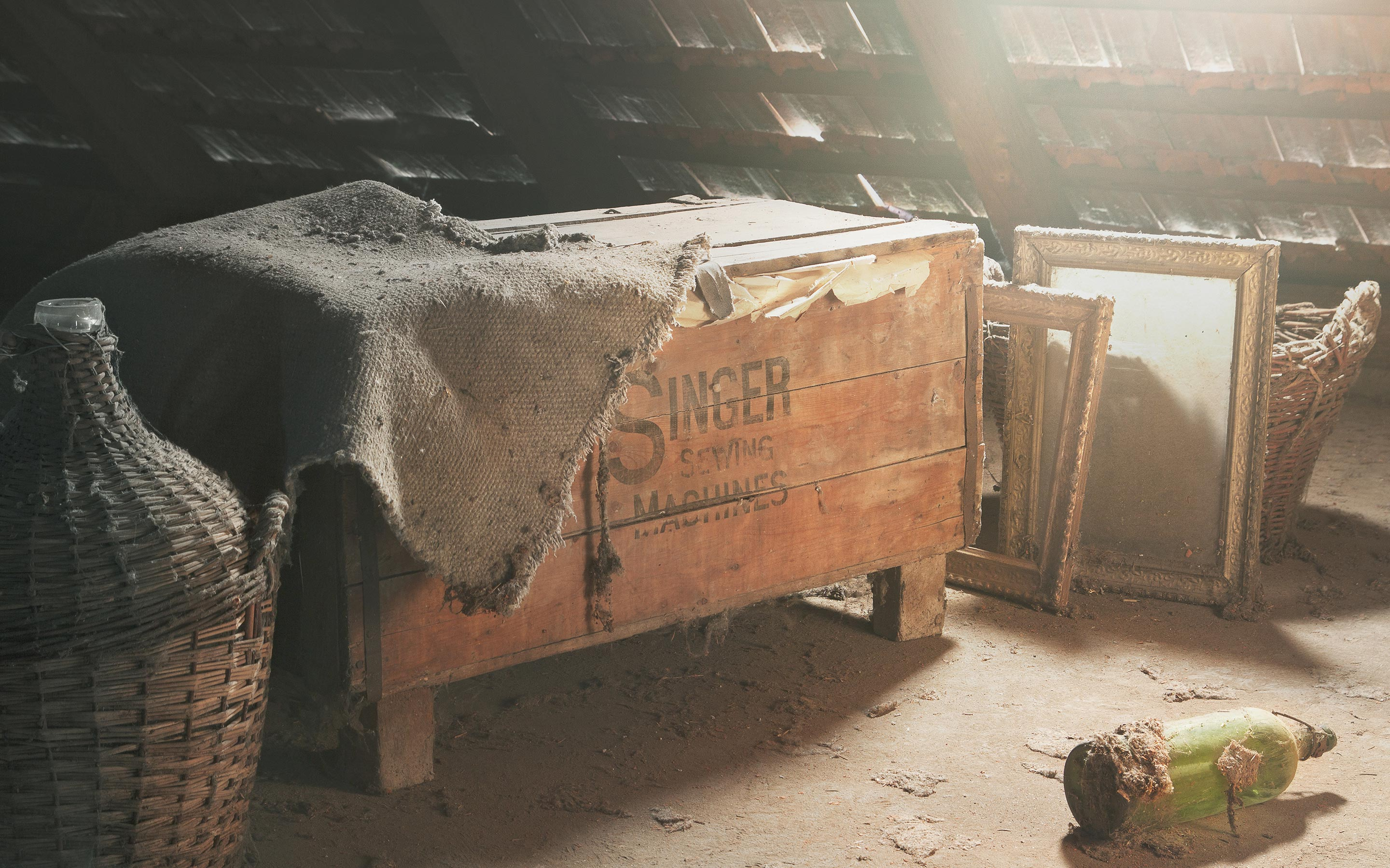 Old-Chest-At-Attic