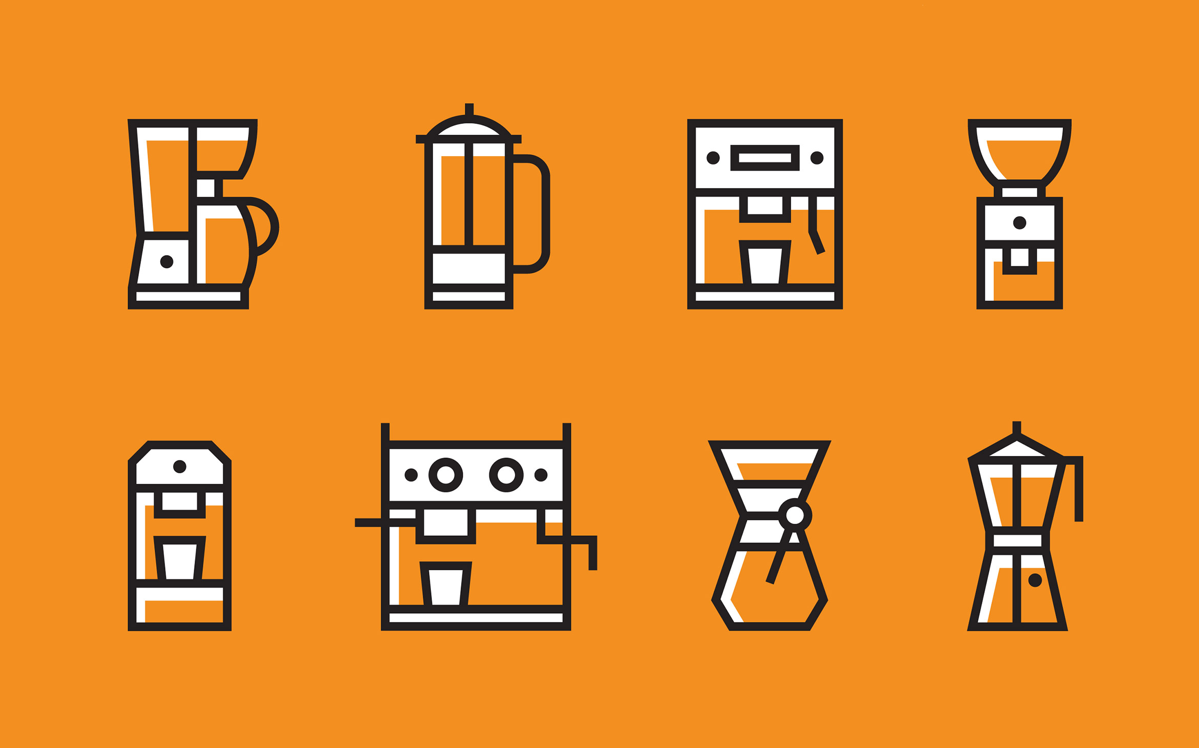 Coffee-Machines-Icons-By-Jan-Baca